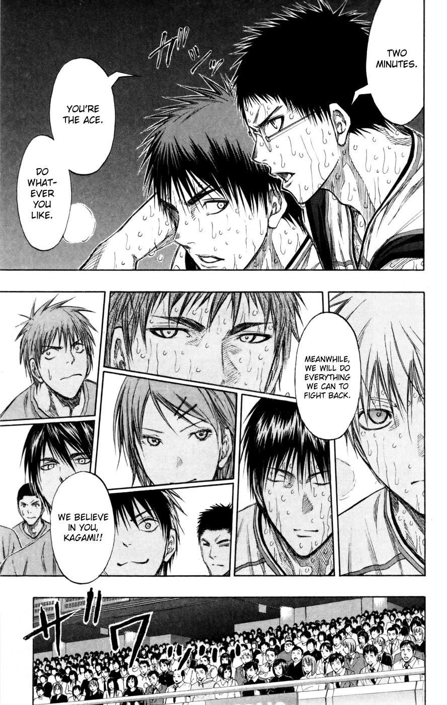 Kuroko no Basket Manga Chapter 135 - Image 05
