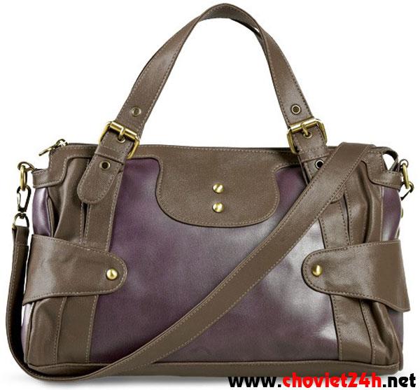 Túi xách nữ thời trang Sophie Chicha Purple - LTUT7