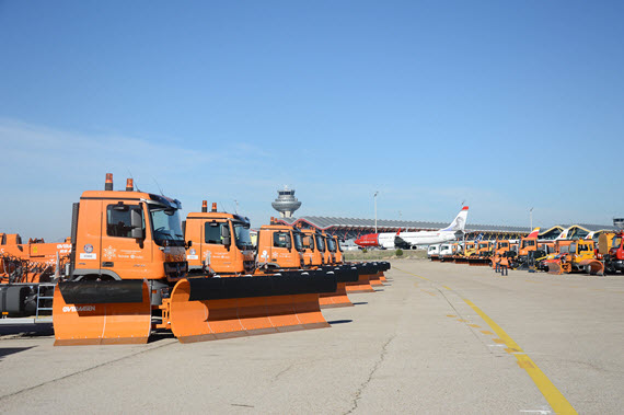 Plan Invierno 2014-2015 en el Aeropuerto de Barajas