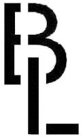 Détail gravure BL Bausch & Lomb