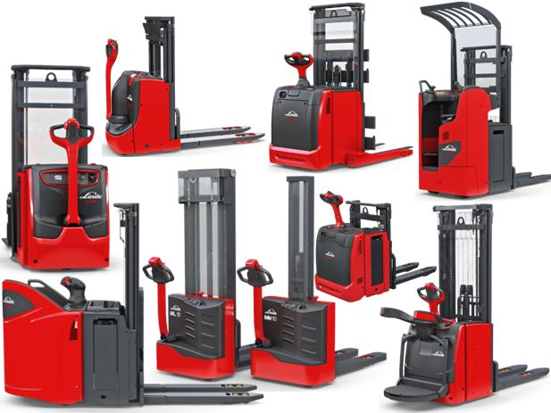 Linde D06 D08 double stacker