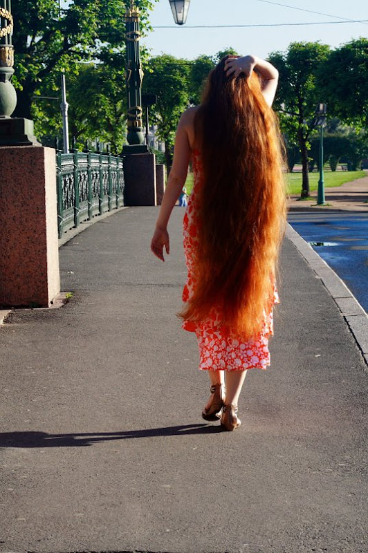 Very long hair girl images photos