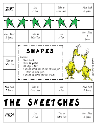 First Grade A La Carte The Sneetches