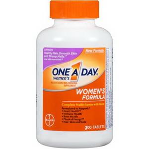 Vitamin Tổng Hợp One A Day Women Formula 300 Viên Hàng Xách Tay Từ Mỹ