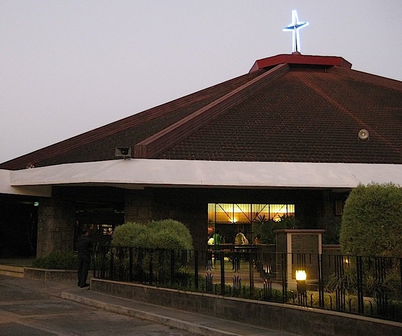 Santa Maria Della Strada Parish Church in Quezon City