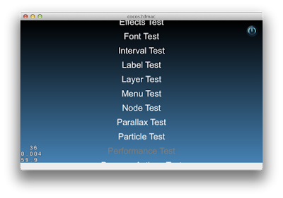 cocos2d JS tests