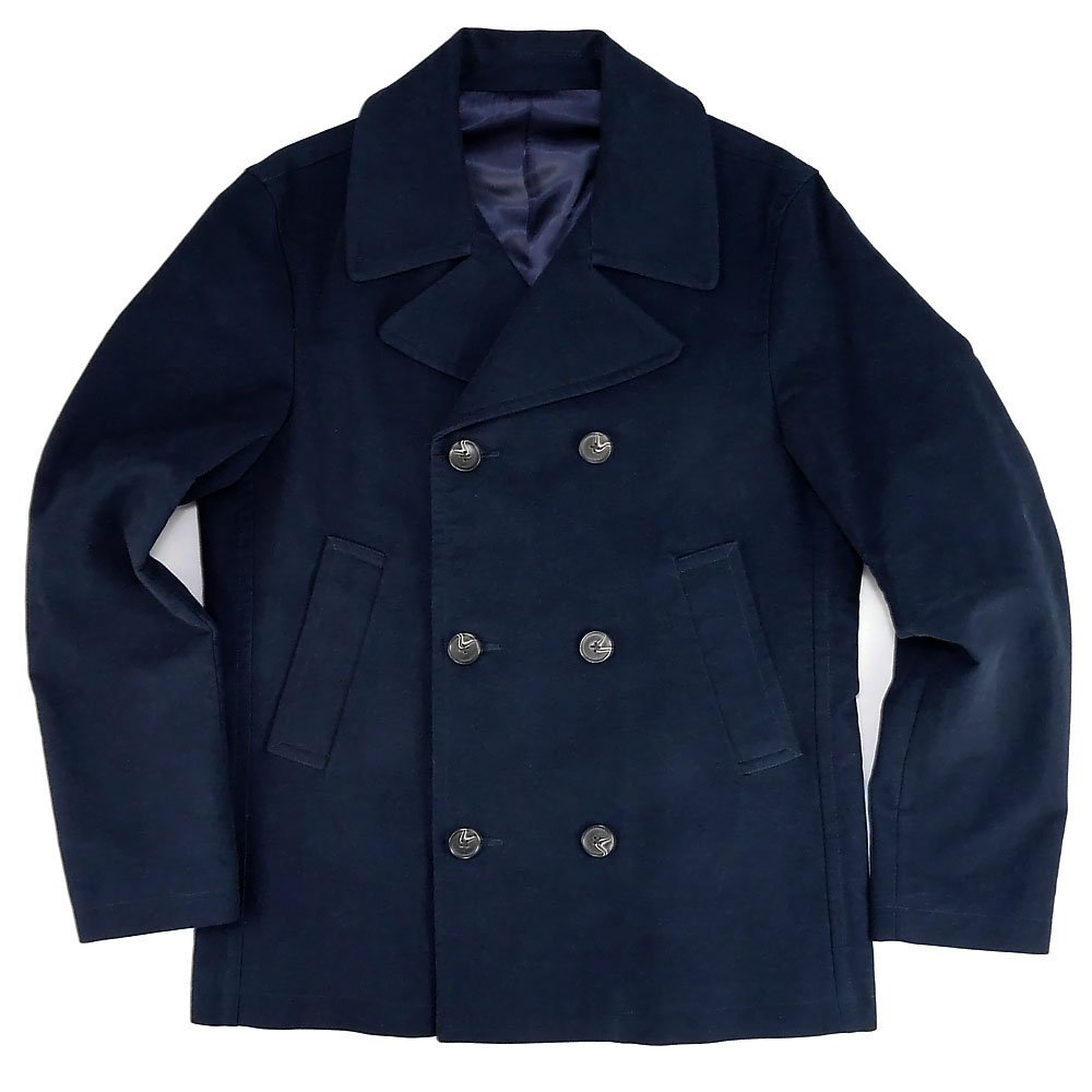 bc102c18 It's a brushed twill navy peacoat I picked up on sale last year actually  but it had gotten too hot to wear it ...