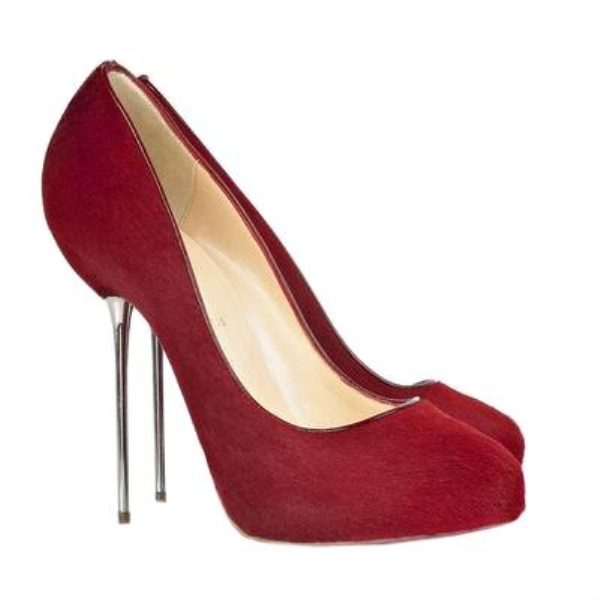 Christian Louboutin Big Lips 120 Red Pumps
