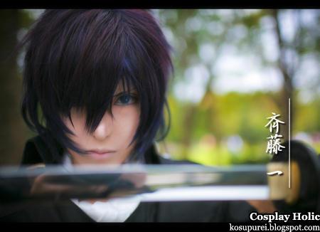 hakuoki ~shinsengumi kitan~ cosplay - saito hajime 2