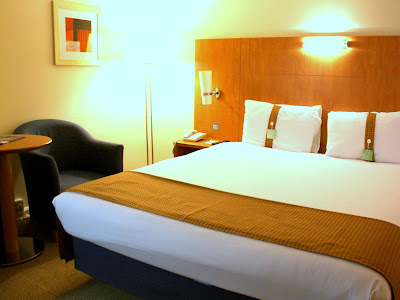 Room at the Holiday Inn in Bloomsbury London