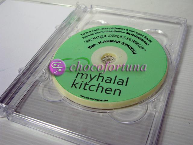 Coklat Edible DVD_Untuk Bapak Wakil Walikota Bekasi