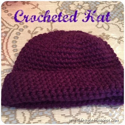 Crochet Hat from Julie's Creative Lifestyle