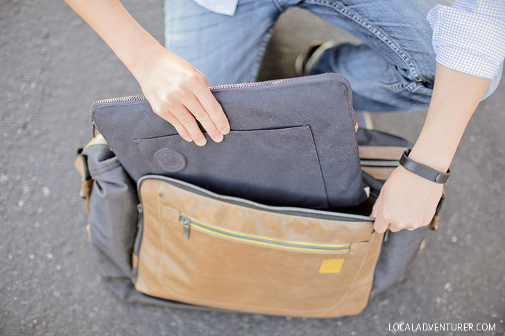 Golla Weekender Bag + Golla Laptop Sleeve.