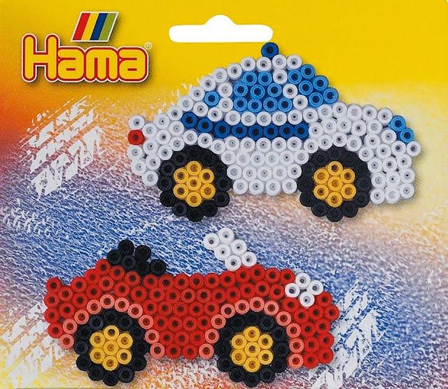 Bộ đồ chơi Xếp hình Ô-tô Hama Car Gift Creative Art là một món quà bổ ích và lý thú