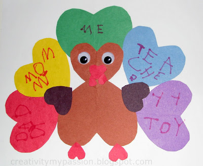 Gratitude/Thankful Heart Turkey
