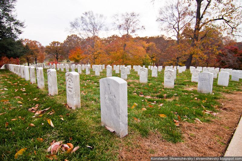 USA Virginia Washington DC Arlington Cemetery  США Вирджиния Вашингтон Округ Колумбия Арлингтонское Кладбище