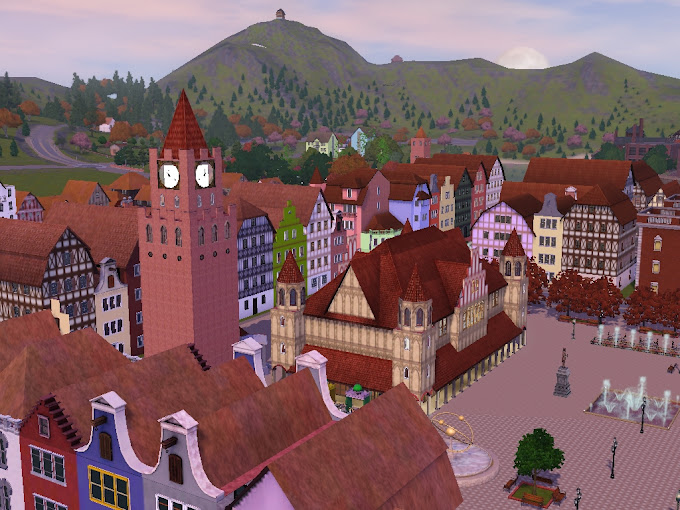 old town sims3 free download world