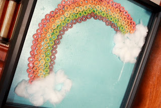 Fruity O's Rainbow Color Craft