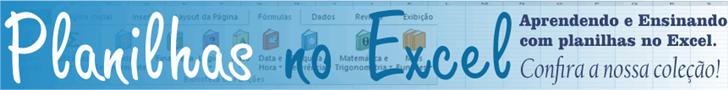 Planilhas no Excel