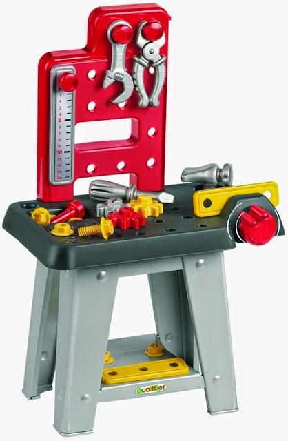 Đồ chơi Bé Tập làm kỹ sư  Eco 2304 được làm từ chất liệu nhựa cao cấp rất an toàn