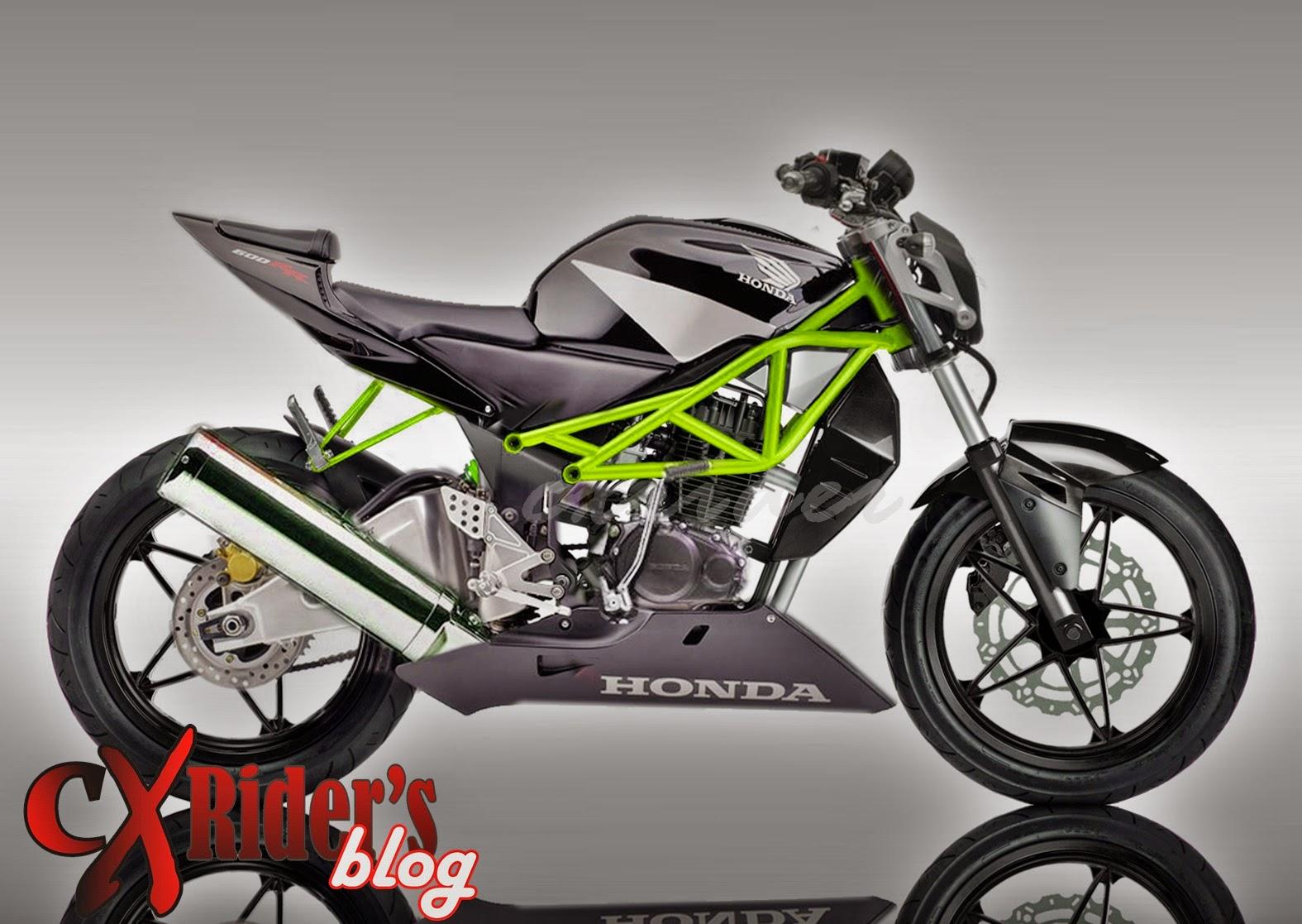 Modifikasi Honda Tiger 2000 Street Fighter