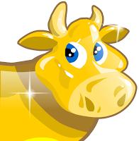 colheita feliz - vaca dourada