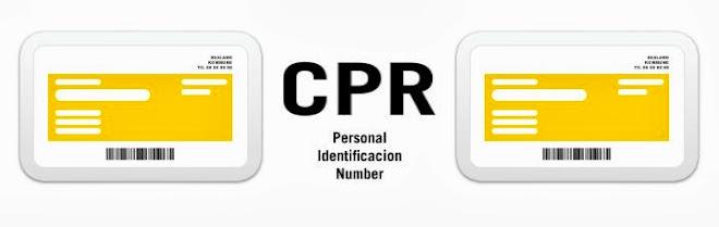 CPR Dinamarca