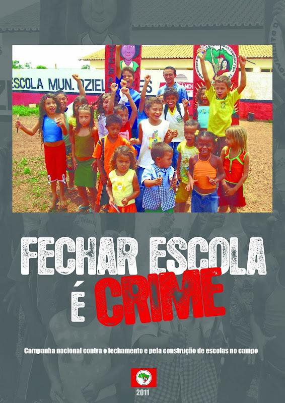 Resultado de imagem para fechar escola do campo é crime