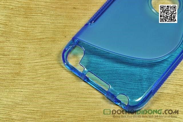 Ốp lưng Ipod Touch 5 dẻo trong chữ S