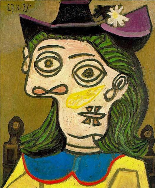 Pablo Picasso - Dora Maar, 1939