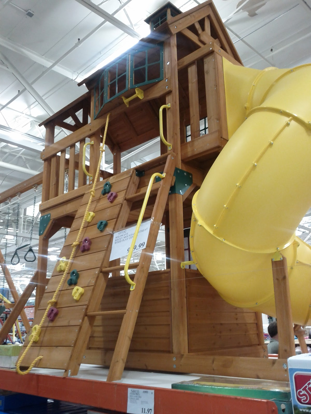 Cedar Summit Panorama Playset From Costco