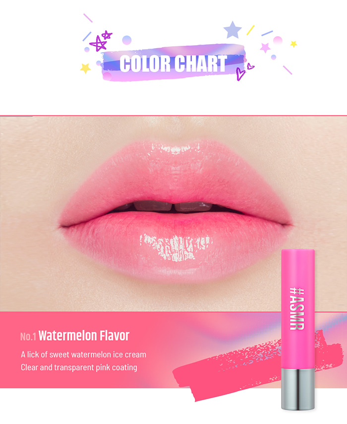 Son PERIPERA Sugar Candy Tint Stick Watermelon flavor