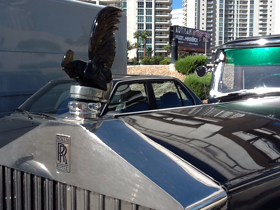Original Rolls Royce Hood Ornament Glass Rooster Rolls Royce Hood