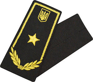Погони / митна служба/   радник 3 рангу / чорні