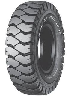 Võ đặc xe nâng hàng Dunlop