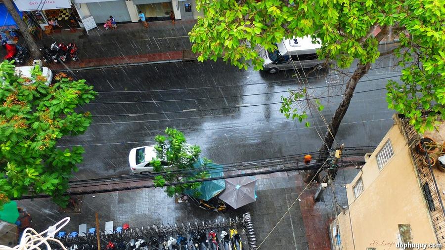 cơn mưa ngày cuối Hạ