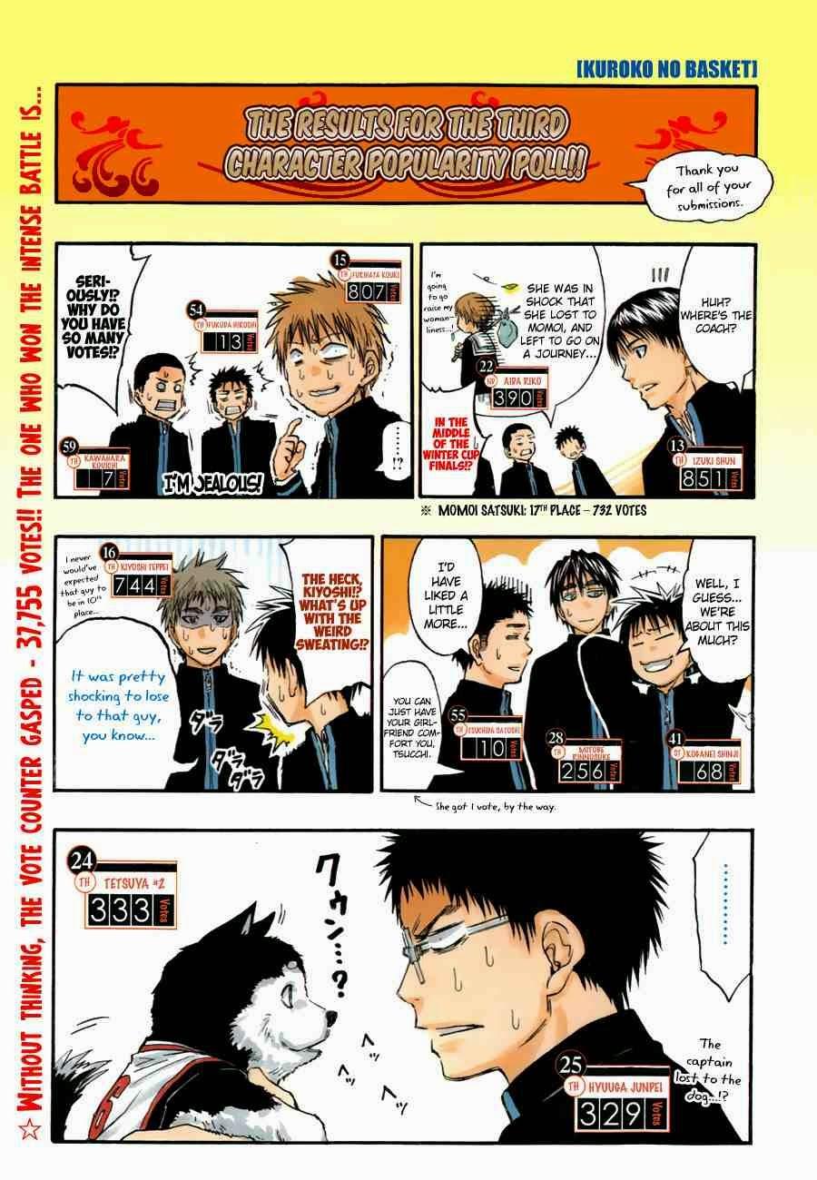Kuroko no Basket Manga Chapter 254 - Image 02