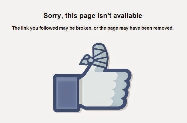 Thông báo lỗi trong quá trình đổi tên fanpage lớn hơn 200 like