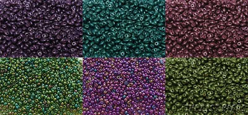 Spring Colors Twin Seed Bead Giveaway