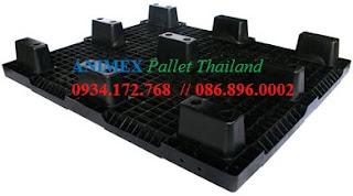 Pallet nhựa hàng nhẹ NMS 1012 NR nhập khẩu
