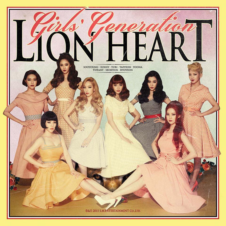Girls' Generation (SNSD) 소녀시대 - Lion Heart [image by Facebook Girls' Generation]