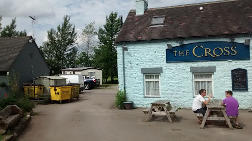 Camping  at The Cross Inn