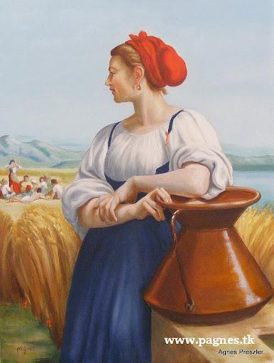 donna ciociara - copia da Bouguereau