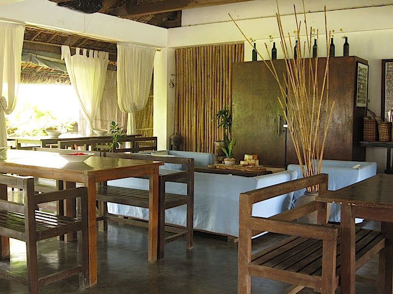 dining room of Kapuluan Vista Resort