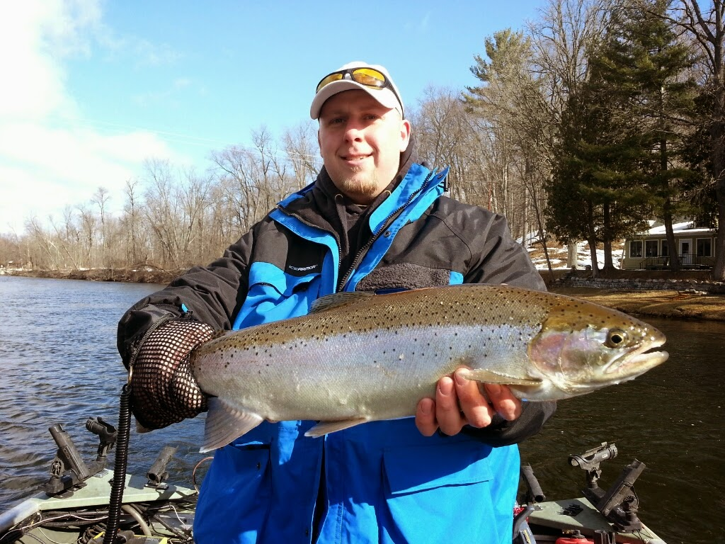 float fishing for steelhead
