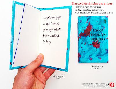 llibre manuscrit de poemes curts