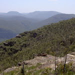View into valley from Mt Hay track (40650)