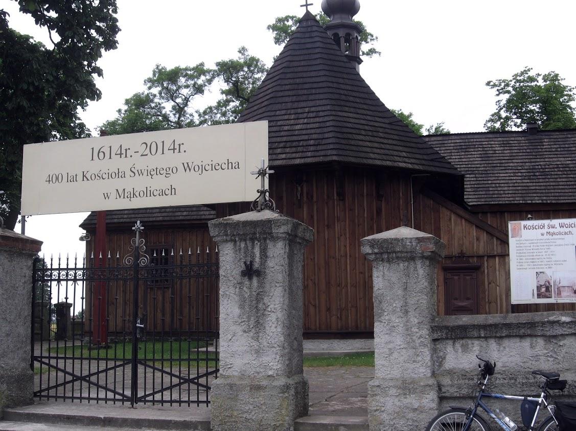 Mąkolice, kościół św. Wojciecha