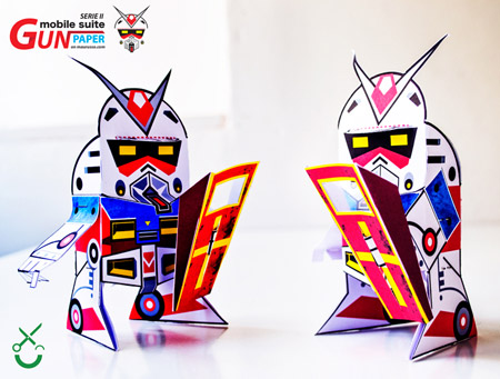 GUNpaper the Gundam Paper Toy Series II
