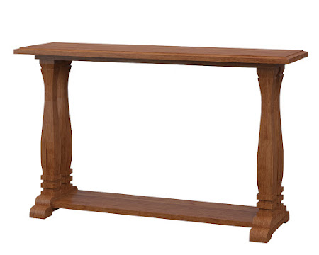 Dane Sofa Table in Itasca Maple
